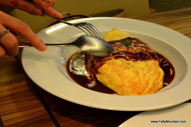 The delicious Omurice