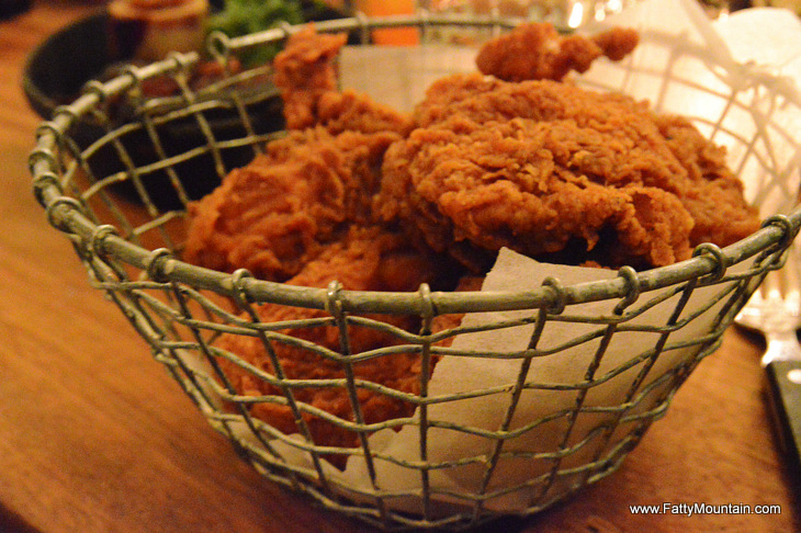 Foxlow Fried Chicken with Habanero Vinegar