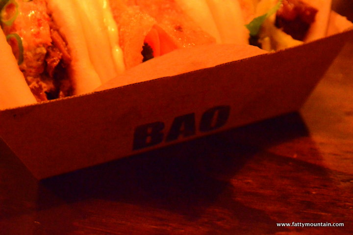 The Cardboard tray the baos came in