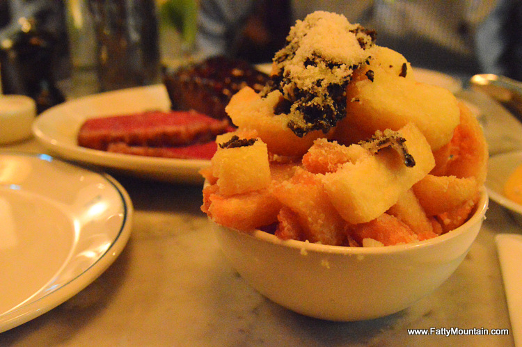 Black truffle and parmesan chips