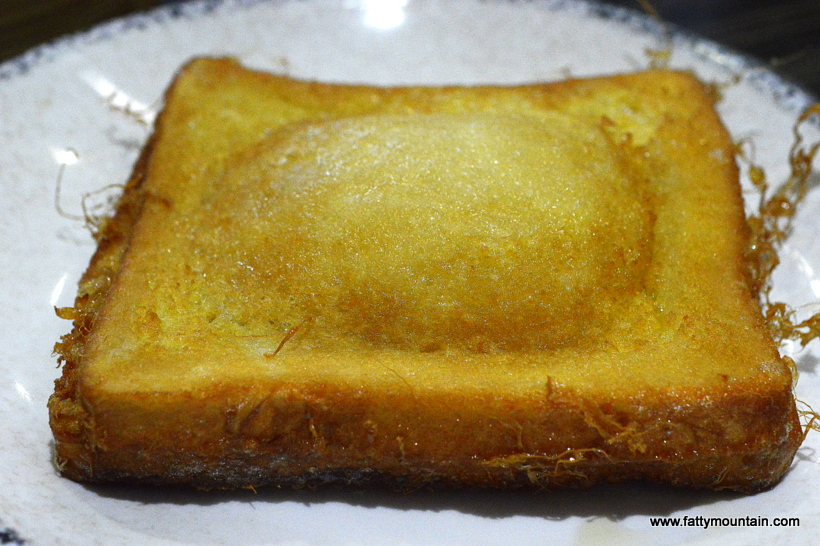 Golden Lava French Toast