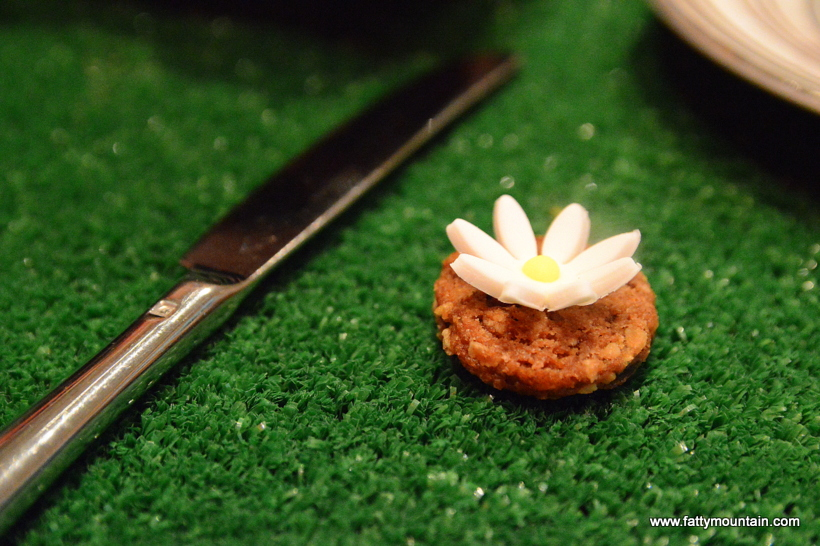 The flower cookie