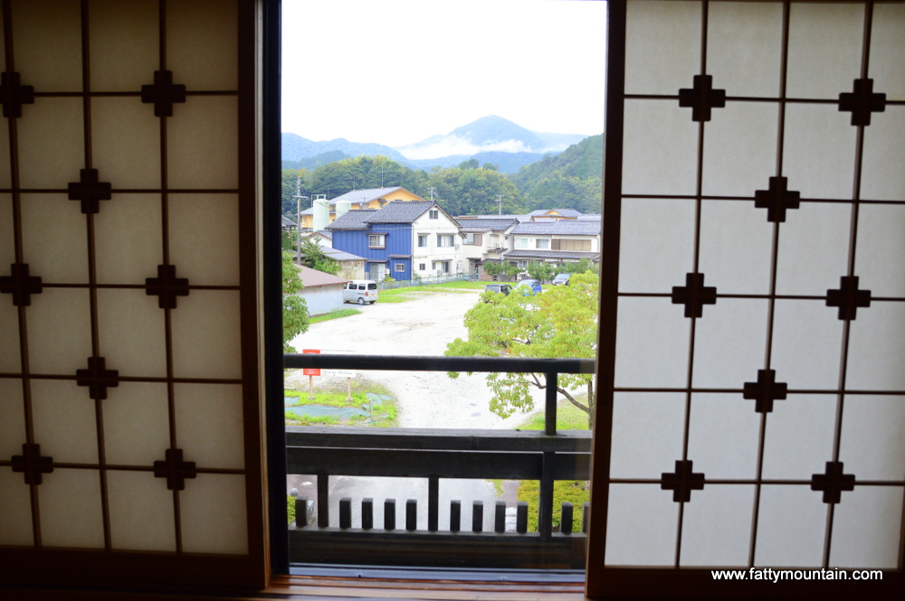 Window and view from the room