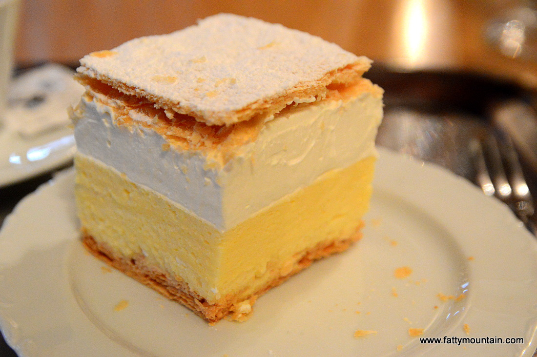 Kremna Rezina (Cream Slice)