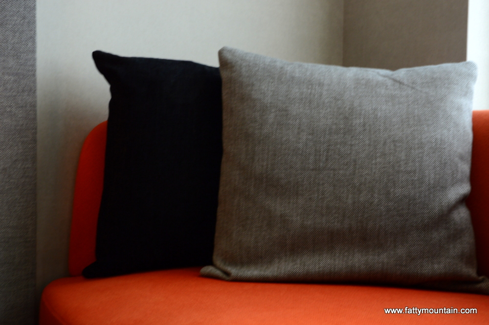 Sofa will pillows
